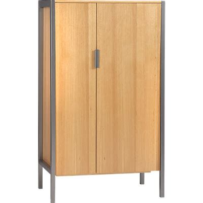 cb2 armoire the bold and the beautiful the low down cb2