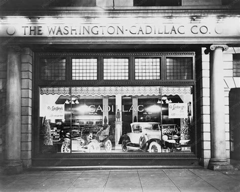 cadillac dc cadillac dealer showroom washington dc 8x10 reprint of