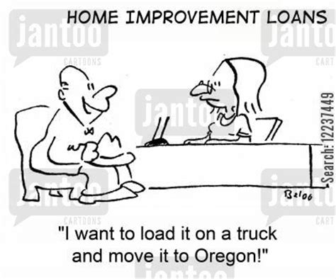home improvement loans humor from jantoo
