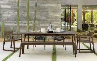 Cb2 Outdoor Furniture by 10 Outdoor Dining Spaces That Double As Relaxing Retreats