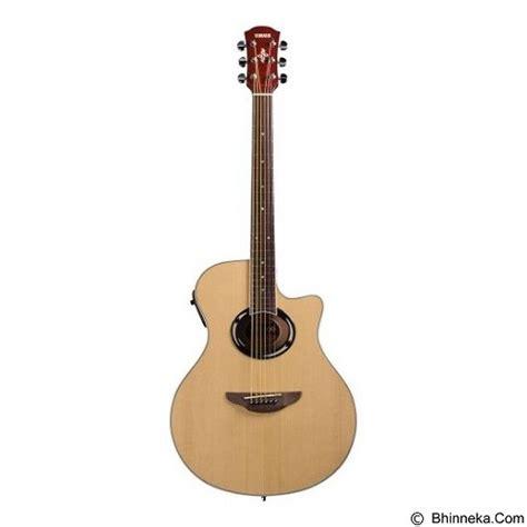 Gitar Akustik Elektrik Yamaha Apx New Wood jual yamaha gitar akustik elektrik apx 500ii merchant murah bhinneka