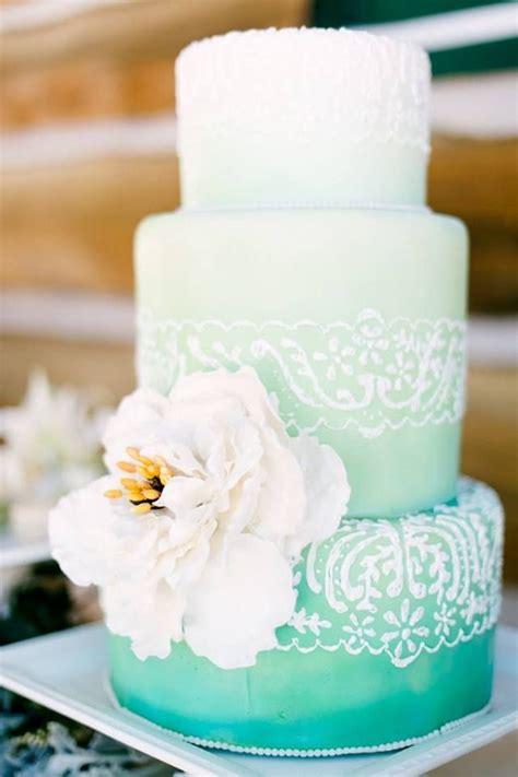 Hochzeitstorte Ombre by Mint Ombre Wedding Cake Wedding Cakes