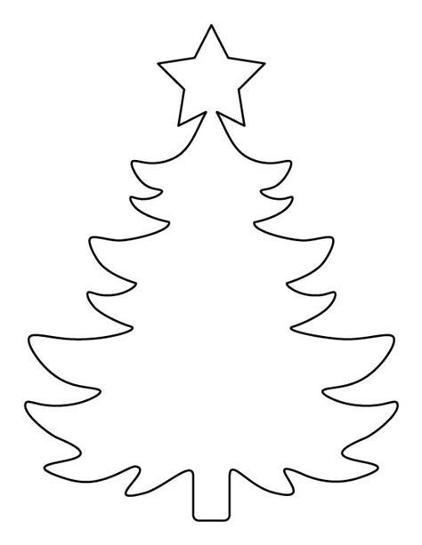large printable xmas tree printable large christmas tree pattern use the pattern