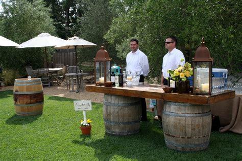 Backyard Wedding Bar Ideas April Kennedy My My Style Brett Wedding