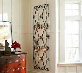 rod iron wall art home decor bathroom borders italian villa style bath border tiles