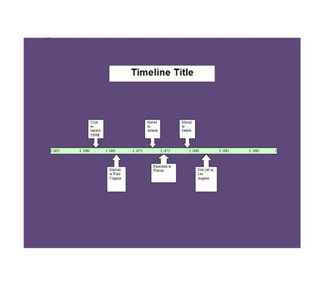 word timeline template 30 timeline templates excel power point word