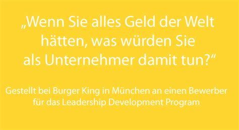 Burger King Mba Leadership Program Glassdoor by Brainteaser Im Vorstellungsgespr 228 Ch Die 10 H 228 Rtesten