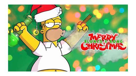 homer simpson stoned blunts bong christmas weed memes weed memes