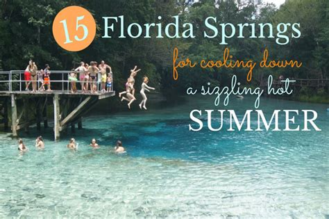 a cool start to spring with a warm up through midweek fox59 15 florida springs to cool down a sizzling hot summer