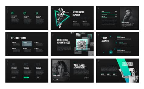 unique powerpoint templates z generation creative powerpoint template 65792