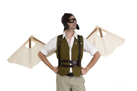 Bizarre Home Decor steampunk man with wings photograph by ilan rosen