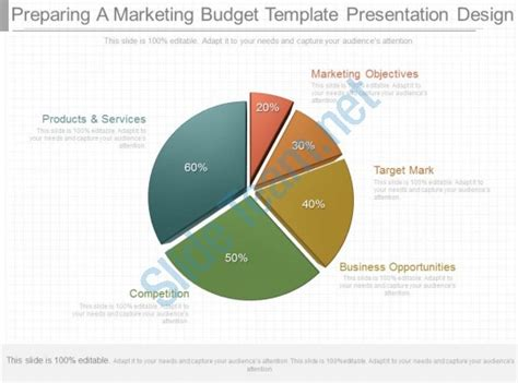 One Preparing A Marketing Budget Template Presentation Design Templates Powerpoint Powerpoint Budget Template