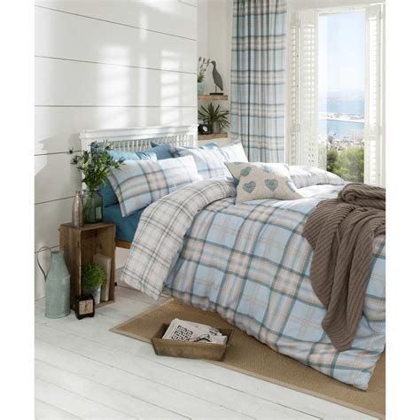 catherine lansfield catherine lansfield kelso bedding set duckegg iwoot