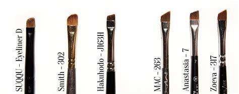 317 Angled Eyeliner Brush japanese makeup brush style guru fashion glitz