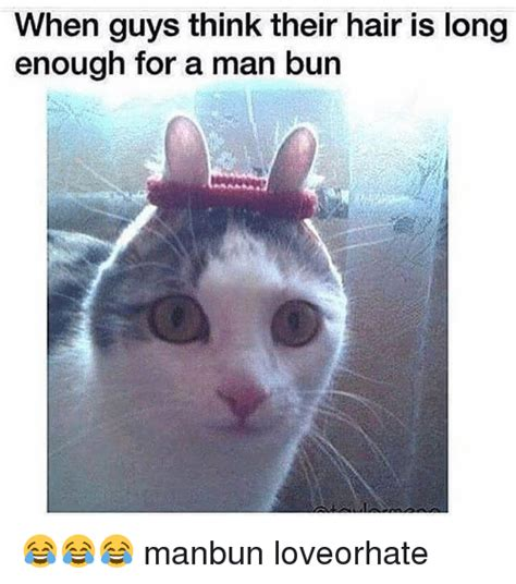 what guys think about the hair down there jezebel funny man bun memes of 2017 on sizzle long