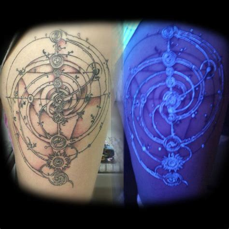 glow in the dark tattoo australia 21 best spiral calf tattoo images on pinterest calf