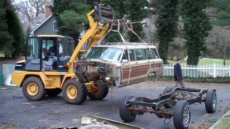 jeep wagoneer trunk grand wagoneer body swap youtube