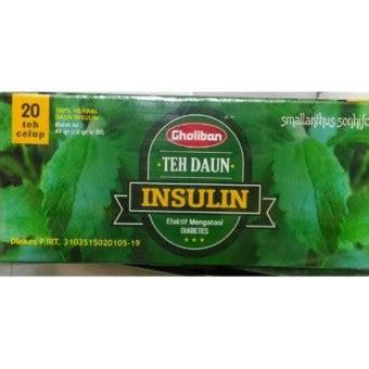 Teh Insulin teh celup daun insulin alzafa store