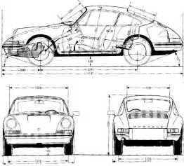 Porsche 911 Dimensions Outline Of 911 Pelican Parts Technical Bbs