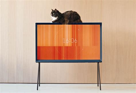 Interior Design Model Homes The Samsung Tv By The Bouroullec Brothers Elle Decor Italia