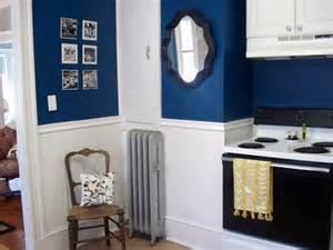 blue kitchen paint flickr find antique mirror in navy blue kitchen navy