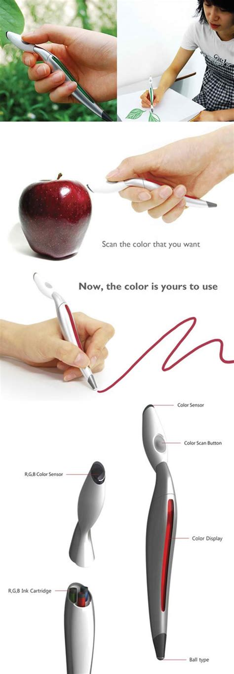 pen that scans colors color scanning pen