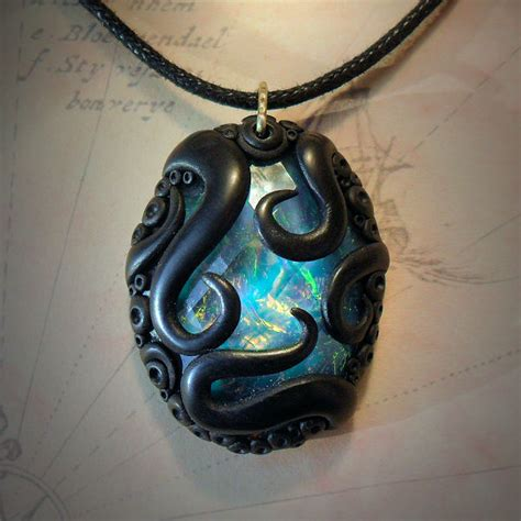 tentacled opalescent necklace buy cthulhu mythos