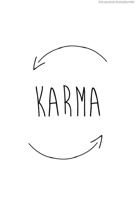 imagenes tumblr karma simple bitch quotes quotesgram
