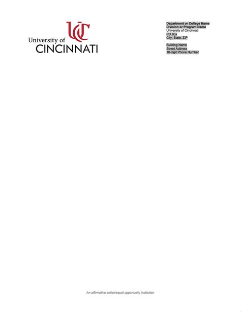 Brand Guide Home University Of Cincinnati University Of Cincinnati Of Cincinnati Powerpoint Template