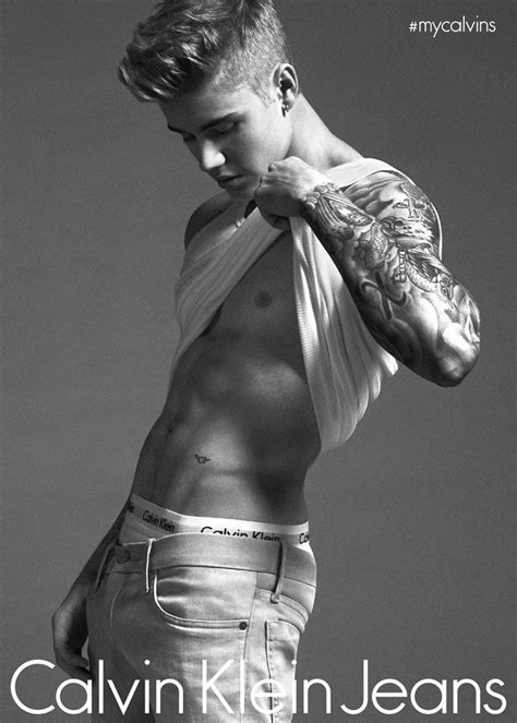 Justin Bieber For Calvin Klein Spring Ad Campaign Tom Lorenzo