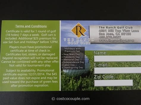 Golf Gift Cards - live discounts golf gift cards wente vineyards and the ranch