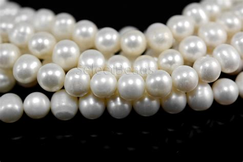 bulk pearl white freshwater pearl pearl wholesale pearls