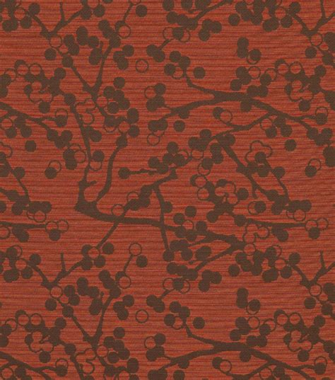 home decor upholstery fabric crypton cherries jo