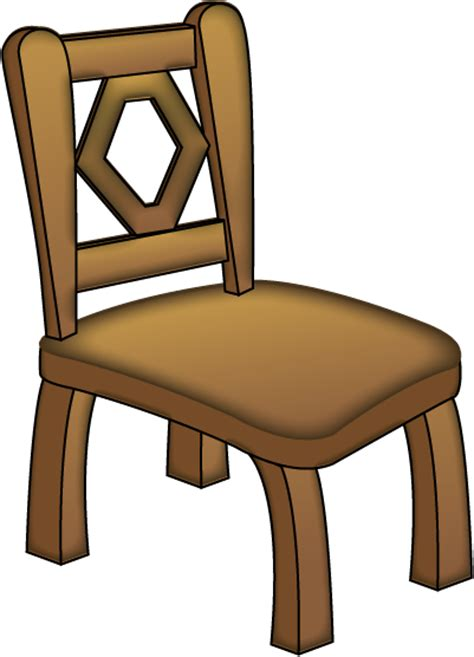 Chair Clipart Free by Free Clip Objects 187 Household Objects 187 Brown Chair