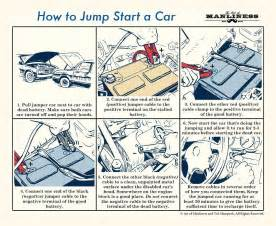 Connected Car Battery Wrong When Jump Starting It How To Of The Day How To Jump Start A Car Common Sense