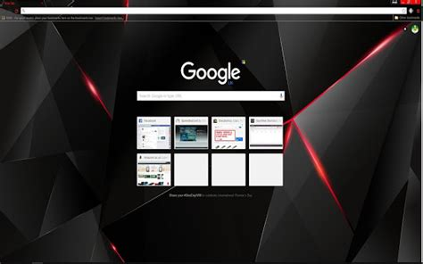 theme google chrome red metric starling2 google