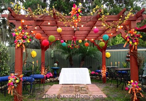 backyard decorations ideas for a budget friendly nostalgic backyard wedding
