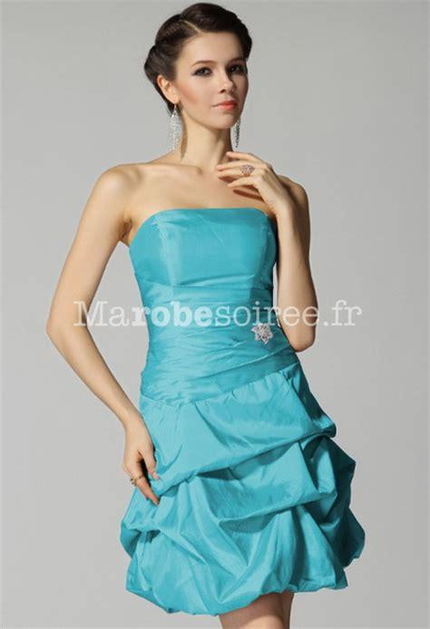 Robe De Mariée Bleu Turquoise Et Ivoire - robe de soiree bleu turquoise