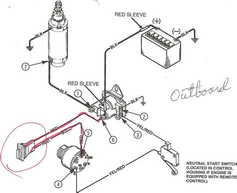 ignition switch wiring diagram 6 yamaha outboard schematic