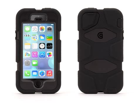 Iphone 4 4s Iphone 5 5s Griffin Survivor Slim Cover griffin iphone 5 5s iphone se rugged survivor all terrain black ebay