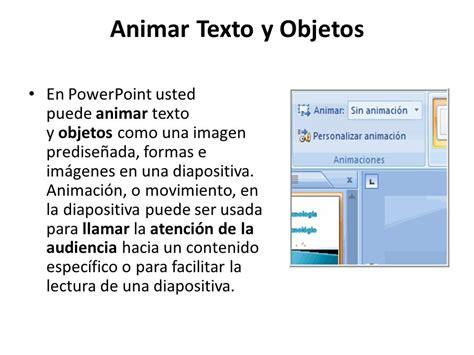 varias imagenes en una diapositiva powerpoint animar texto y objetos en powerpoint usted puede animar