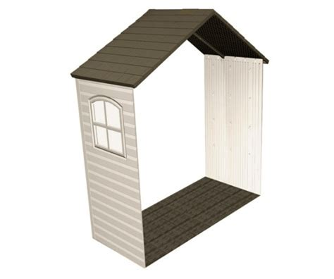 Lifetime Shed Extension by Lifetime 6424 30 Quot Shed Extension Kit With Window For 8 Ft