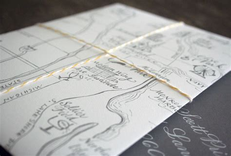newspaper themed wedding invitation map inspired weddings travel themed wedding invitations
