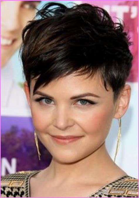 short haircuts round face cute short haircuts for round faces latestfashiontips com