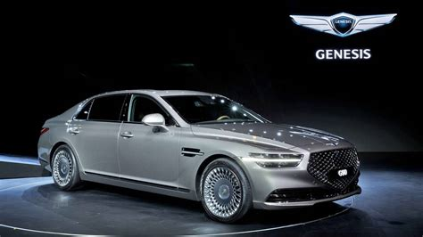 2020 Genesis Coupe by Facelifted 2020 Genesis G90 Luxury Flagship Sedan Unveiled