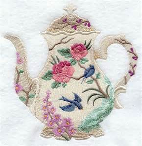Machine Embroidery Quilting Designs by Blooming Teapot Machine Embroidery Quilt Blocks