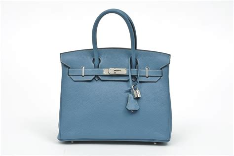 The Birkin Bag by Baggers Club In With Herm 232 S Blue Jean Birkin