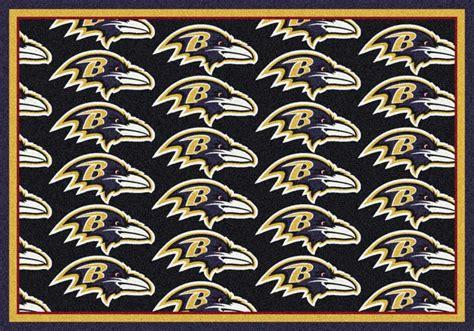 Area Rugs Baltimore Nfl Logo Rugs Football Logo Mats Sports Rugs