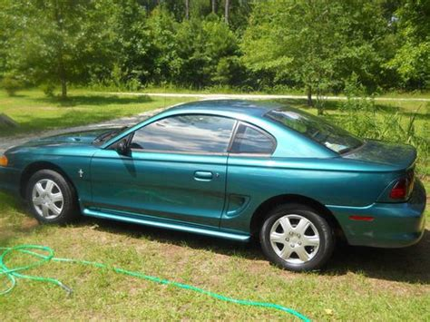 1996 mustang coupe find used 1996 ford mustang base coupe 2 door 3 8l in five