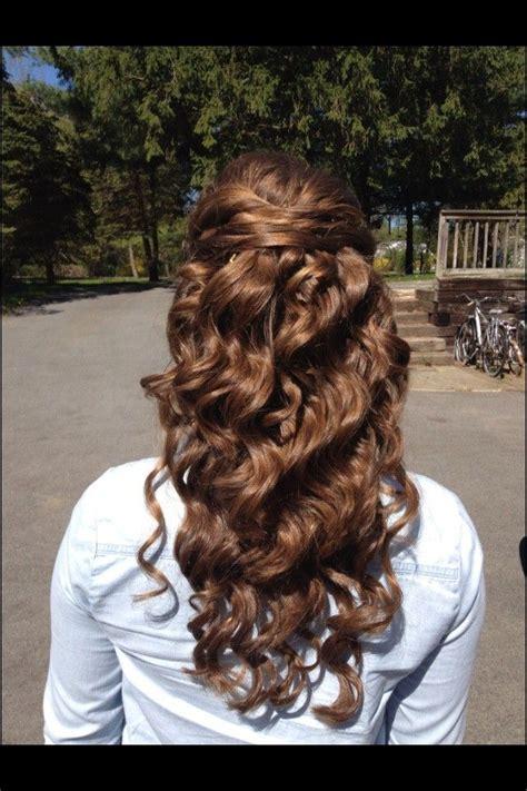 half up half down hairstyles dark hair prom hairstyles for long hair half up half down black